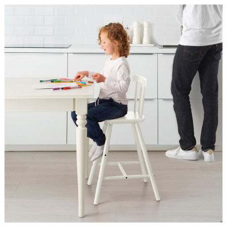 Детский стул АГАМ белый фото 4